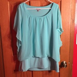 Turquoise blouse ❤️